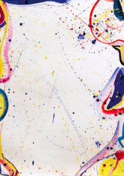 Untitled, 1964, Acrylic on paper, 90.17 x 62.9 cms (35 1/2 x 24 3/4 ins).