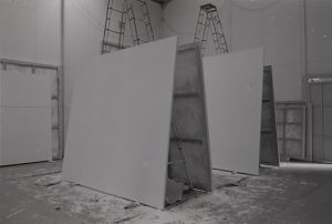 Sam Francis's Tokyo studio c. 1974