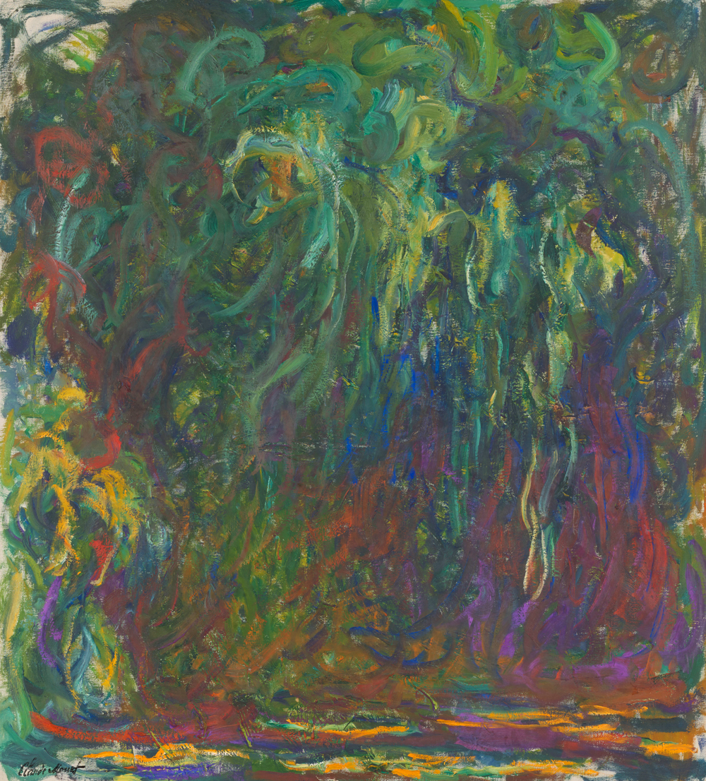 The Water Lilies American Abstract Painting And The Last Monet Sam Francis Foundation