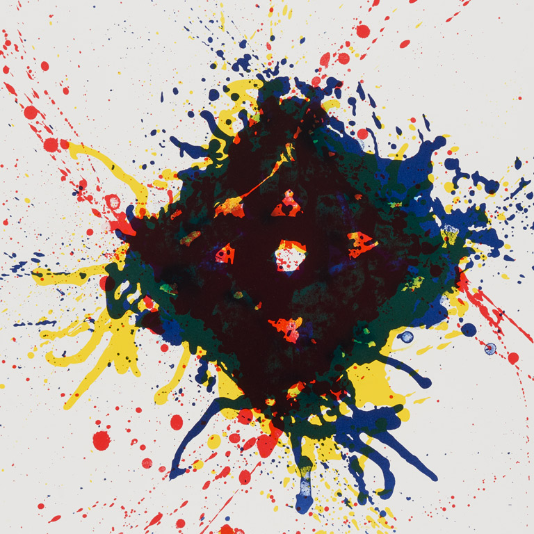 Sam Francis, Untitled (detail) from Papierski Portfolio, 1973-84